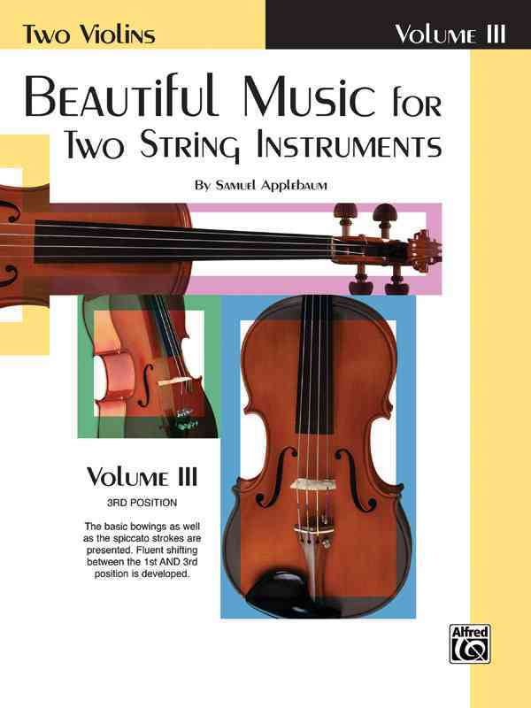 Beautiful Music for Two String Instruments By Applebaum, Samuel